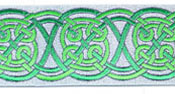 Celtic Landscape design, green color