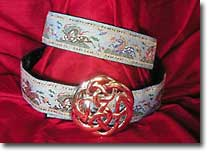 Chinese Horses design belt